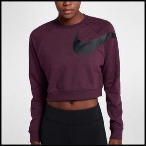 🌺{Nike}Dri-Fit Training Cropped Sweater🌺